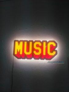 müzik duvar süsü